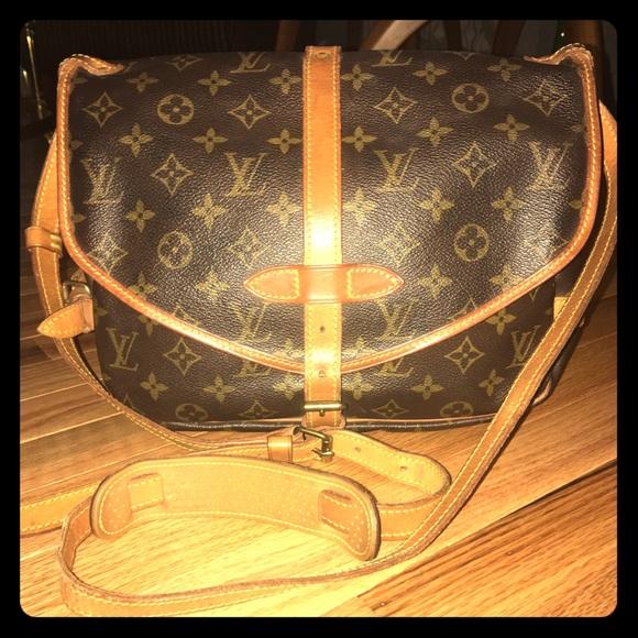 7aa483cb4d94 Louis Vuitton Handbags - 🌺PERFECT🌺 Vintage Louis Vuitton Saumur 30 Bag